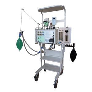 Аппарат ИВЛ с наркозной приставкой Фаза-5-01