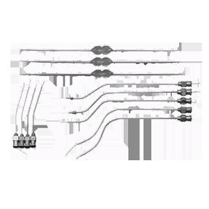 Инструменты и аппараты для проколов и впрыскиваний